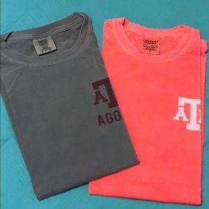 NEW Texas A&M comfort color shirts